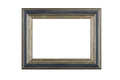 Beautiful wooden frame for pictures and photos. Isolated in a white background. - PhotoDune Item for Sale