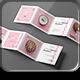 Four Fold Square Brochure Mock-up - GraphicRiver Item for Sale