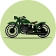 Vintage Motorcycle - GraphicRiver Item for Sale