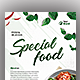 Special Food Flyer Templates - GraphicRiver Item for Sale