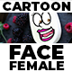 Cartoon Face Female - VideoHive Item for Sale