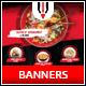 Asian Restaurant Instagram Banner - GraphicRiver Item for Sale