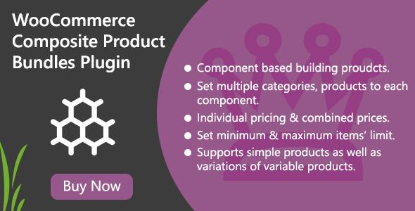 WooCommerce Composite Product Bundles PluginPrice : $21