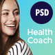 Melanie Hanson - Health Coach Blog & Lifestyle Magazine PSD Template - ThemeForest Item for Sale