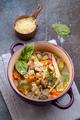Italian minestrone vegetable soup - PhotoDune Item for Sale