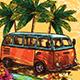 Spring Surf Festival - GraphicRiver Item for Sale