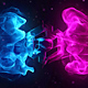Flowing Particles Explosion Logo - VideoHive Item for Sale