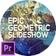 Epic Geometric Slideshow for Premiere Pro - VideoHive Item for Sale