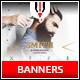 Barbershop Instagram Banner - GraphicRiver Item for Sale