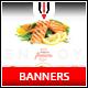 Restaurant Instagram Banner - GraphicRiver Item for Sale