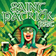 Saint Patrick Irish Day Party Flyer - GraphicRiver Item for Sale