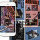 Alpha Instagram Templates - GraphicRiver Item for Sale