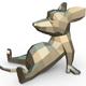 Mouse figure - 3DOcean Item for Sale