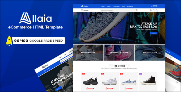 Allaia - eCommerce HTML Template