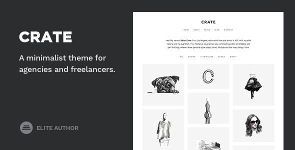 Crate - Minimalist WordPress Theme