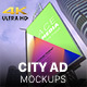 City Advertising Mockups - VideoHive Item for Sale