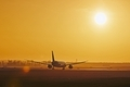 Airplane on airport runway - PhotoDune Item for Sale