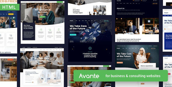 Avante - Business HTML Template