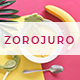 Zorojuro – Creative Business & Pop Art Google Slides Template - GraphicRiver Item for Sale