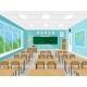Empty School Classroom Interior - GraphicRiver Item for Sale