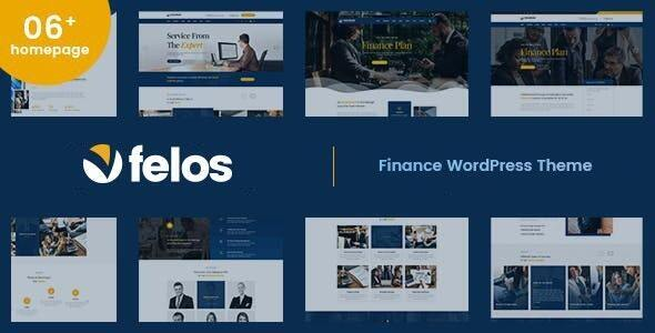 Felos - Finance WordPress Theme