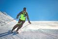 Skier practicing alpine skiing - PhotoDune Item for Sale