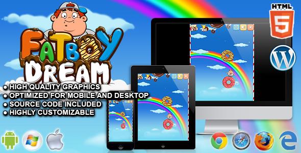 FatBoy Dream - HTML5 Skill Game Download