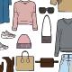 Woman's Clothes Set - GraphicRiver Item for Sale