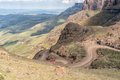Hairpin bends in the Sani Pass - PhotoDune Item for Sale