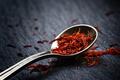 Saffron in a spoon - PhotoDune Item for Sale