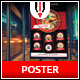 Asian Restaurant Poster - GraphicRiver Item for Sale