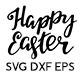 Happy Easter - SVG Cut Files - GraphicRiver Item for Sale