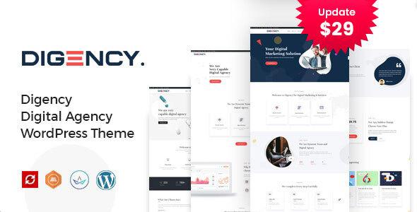Digency – Multi-Purpose Portfolio WordPress Theme