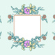 Floral Frame Collection - GraphicRiver Item for Sale