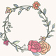Round Frames with Flowers - GraphicRiver Item for Sale