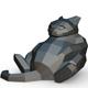 Cat figure 7 - 3DOcean Item for Sale