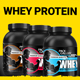 Whey Protein Label Design. - GraphicRiver Item for Sale