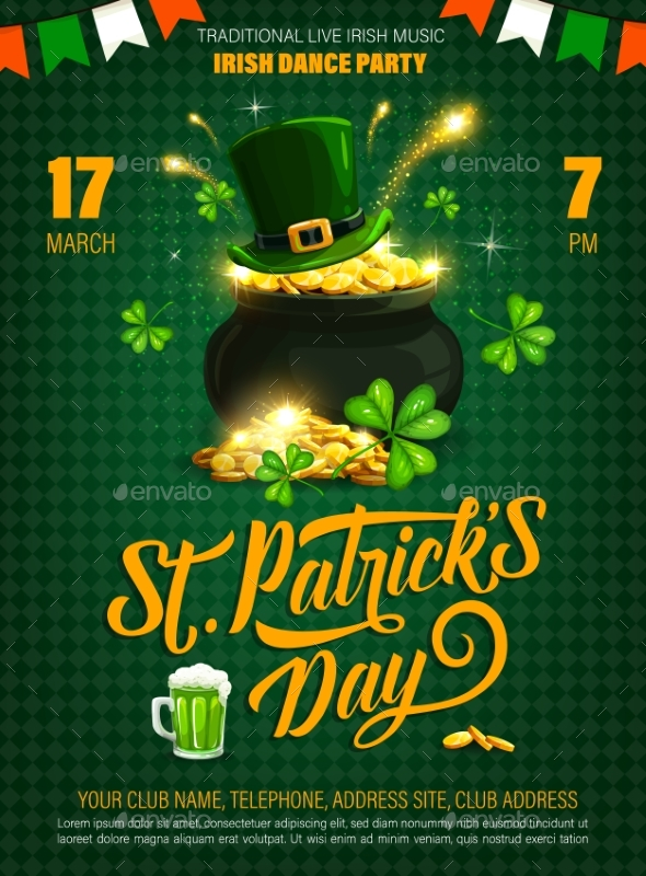 Patricks Day Party Poster