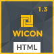 WICON | Construction & Building HTML Template - ThemeForest Item for Sale
