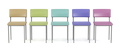 Front view of colorful chairs - PhotoDune Item for Sale