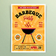 Retro Barbeque Party Flyers - GraphicRiver Item for Sale