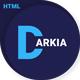 Darkia - Dark Business HTML Template
