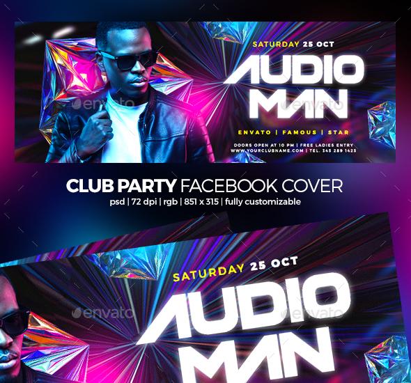 Dj Guest Facebook Cover