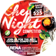 Chef Night Competition Flyer - GraphicRiver Item for Sale