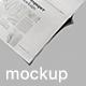 Newspaper Adverts Mockups - GraphicRiver Item for Sale