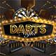Darts Pub Night Or Darts Club Flyer - GraphicRiver Item for Sale