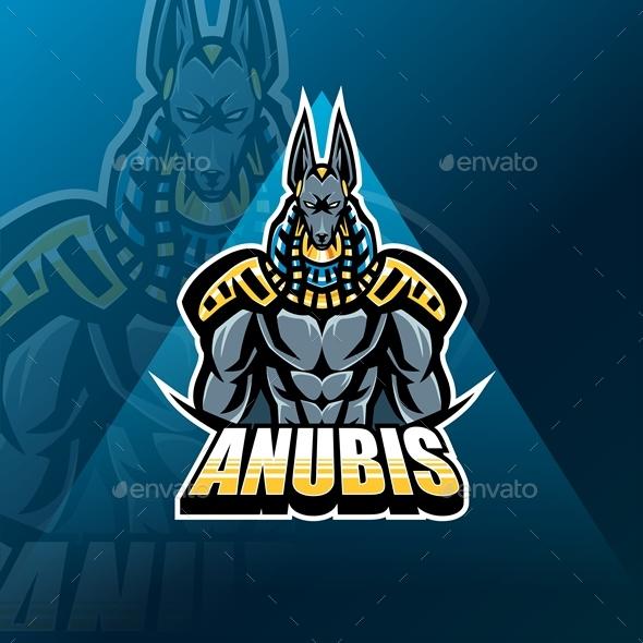 Anubis Esport Mascot
