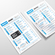 Daily Menu Template - GraphicRiver Item for Sale