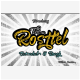 Rosttel Extruded & Rough - GraphicRiver Item for Sale