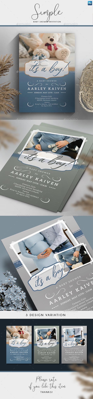 Invitation Templates from GraphicRiver